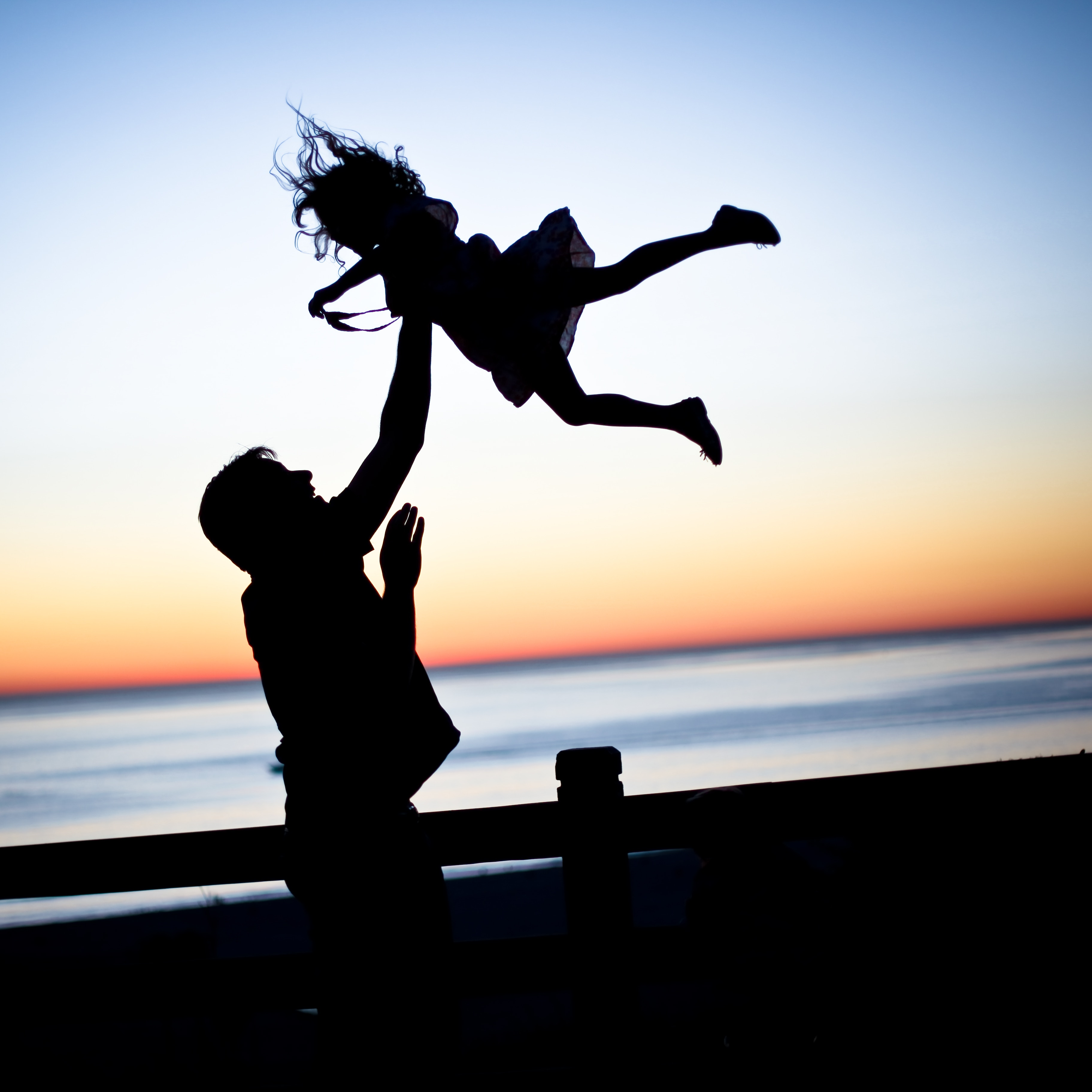 Dad teaching daughter about trust so she can learn how to trust your gut.